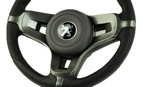 Volante Esportivo Mustang + Peugeot 106 206 207 306 Grafite