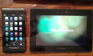 Celular Blackberry Z10 16gb Mas Tablet Blackberry Playbook