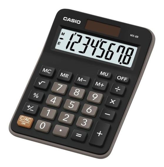 Calculadora De Escritorio Casio Mx-8b