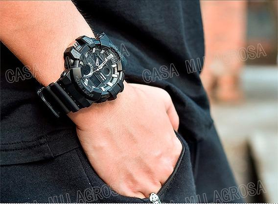 Relógio Masculino Original Importado Esportivo Casual Preto