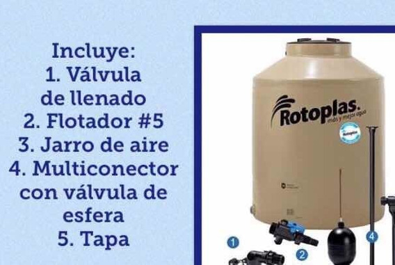 Tinaco 1100 Litros Rotoplas Equipado