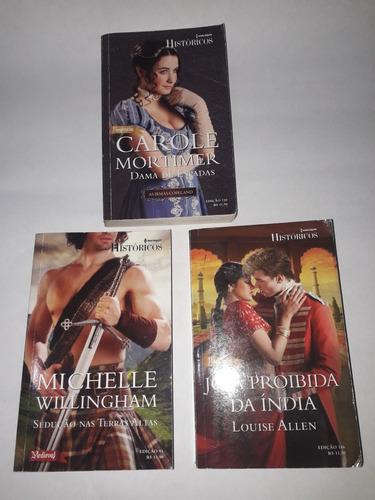 Livros:03 Romances Harlequin Históricos