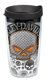 Harley Davidson Copo Viagem Willie G Skull Novidade!!!