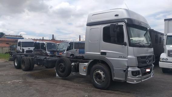 M Benz Atego 2430 8x2 2015 / 2016 Bitruck