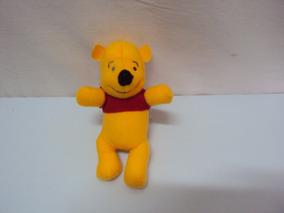 Miniatura Pelucia Ursinho Pooh Tamanho 11cm