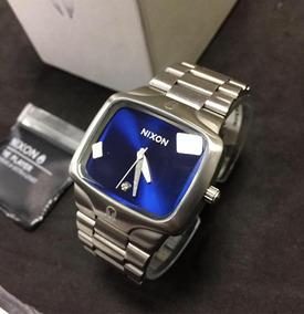 Relógio Nixon The Player - Com Diamante Original - Prata