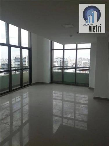 Sala Para Alugar, 67 M² Por R$ 3.500/mês - Brooklin Paulista - São Paulo/sp - Sa0185