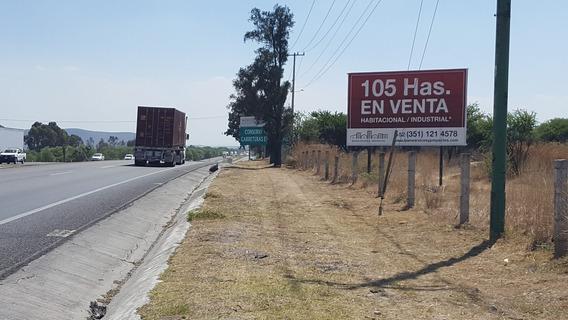 Terreno 105 Has. Venta En Querétaro (habita - Industrial)