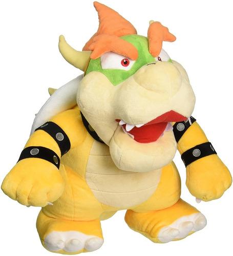 Imagen 1 de 1 de Little Buddy Peluche Bowser 16 Pulgadas Nintendo Mario Bros