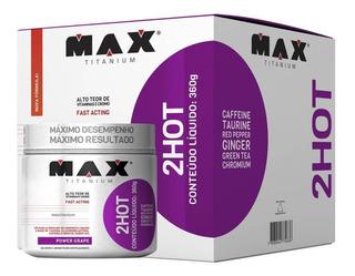 Pré Treino 2 Hot 360g (60doses) - Max Titanium