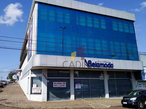 Prédio Para Alugar, 1275 M² Por R$ 25.000/mês - Maria Luiza - Cascavel/pr - Sa0162