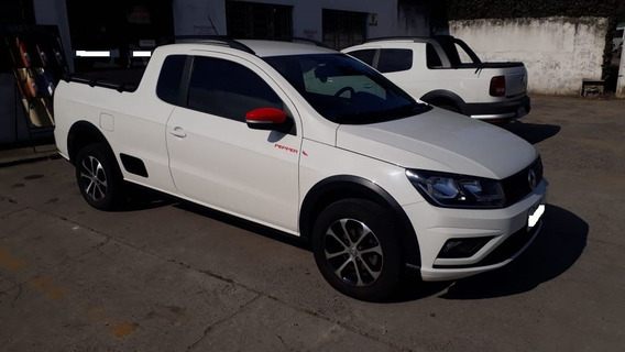 Volkswagen Saveiro 1.6 Msi Pepper 2017/2018 Ce Branca