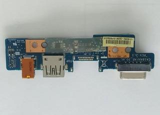 Tarjeta Audio 3.5/usb / Hdmi / Vga Toshiba L40d-b L40dt-b