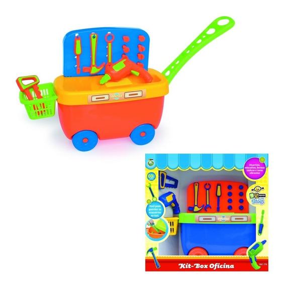 Brinquedo Kit Box Oficina - 176 - Bstoys