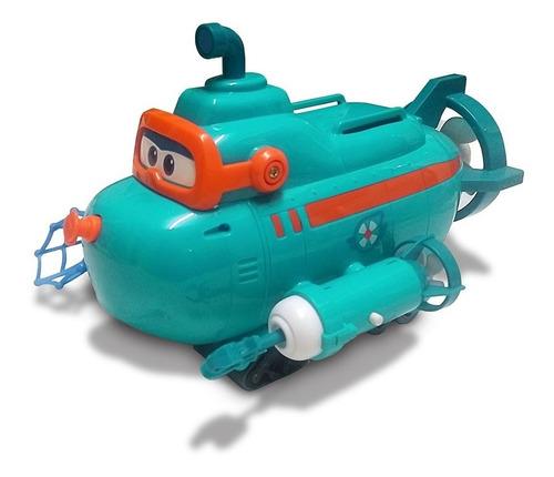 Imagen 1 de 5 de Set Willy El Submarion Súper Wings