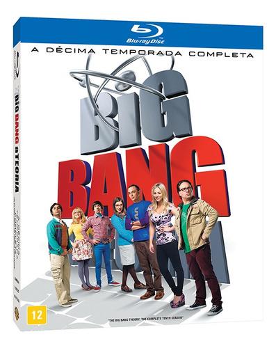 Imagem 1 de 1 de Blu-ray - The Big Bang Theory - 10ª Temporada
