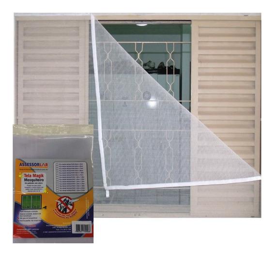 Tela Anti Insetos Mosquiteira Velcro Adesivo 1,50 X 1,00