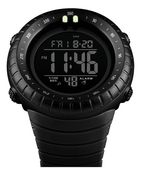 Relógio Digital Masculino Corrida Natação Academia Cronometro Original Com Garantia
