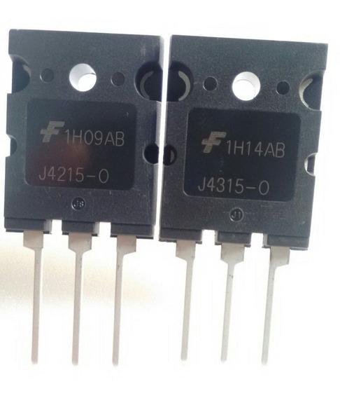 J4215 E J4315 Original 1 Par Transistor