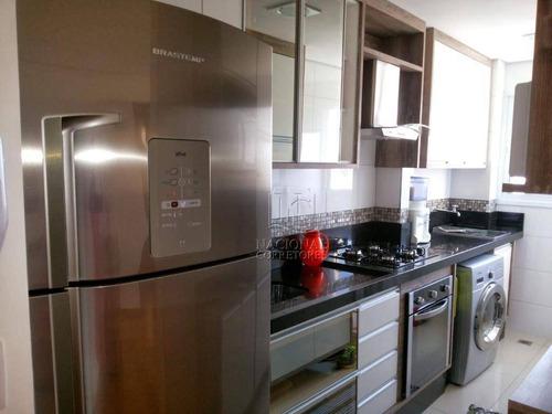 Imagem 1 de 25 de Apartamento À Venda, 50 M² Por R$ 259.000,00 - Utinga - Santo André/sp - Ap11477
