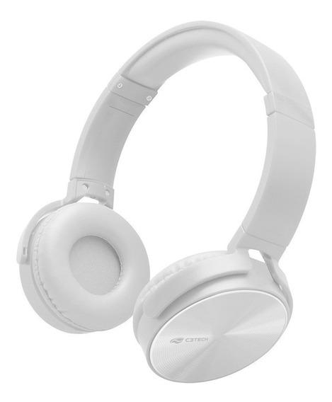 Fone De Ouvido C/microfone Ph-110wh Branco C3 Tech