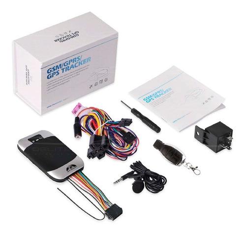 Gps Tracker Localizador Satelital Auto Moto Tk303g Control