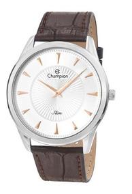 Relógio Champion Masculino Slim Ca21768q Com Nf