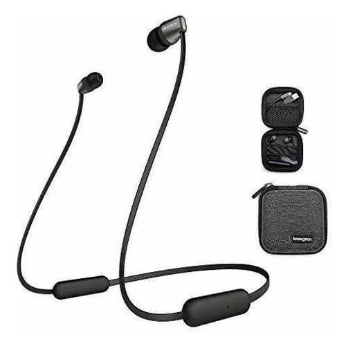 Imagen 1 de 9 de Sony Wi-c310 Auriculares Intrauditivos Inalámbricos, Negro (