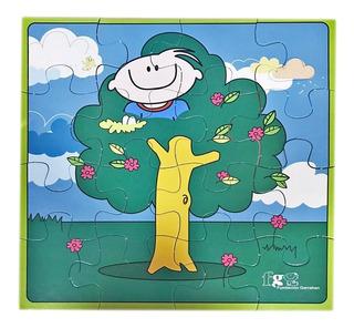 Eco Rompecabezas Infantil - Árbol - Fundación Garrahan