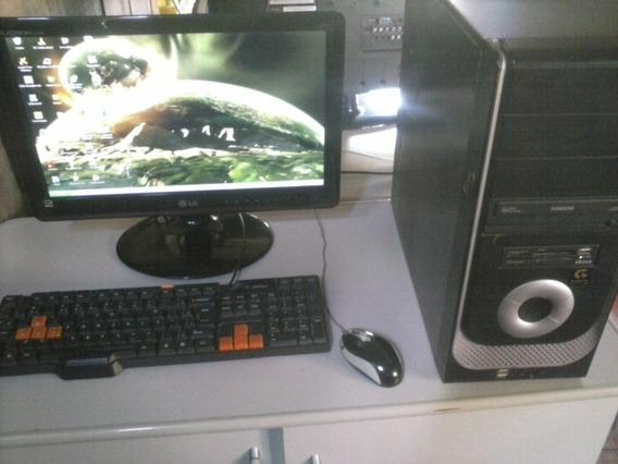 Computador Completo, Tela Lcd 17 Polegadas.