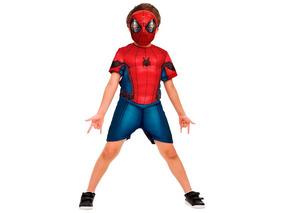 Fantasia Avengers Homem Aranha De Volta Ao Lar Curta