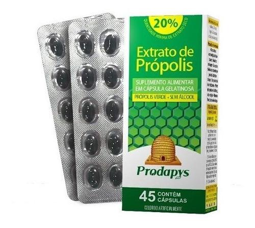 Imagem 1 de 4 de Própolis Verde - 45 Caps - Suplemento Alimentar - Sem Alcool
