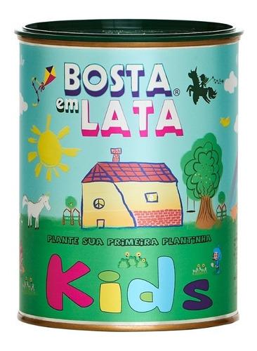 Imagem 1 de 3 de Kit Plantar Bosta Em Lata Kids - 330 G