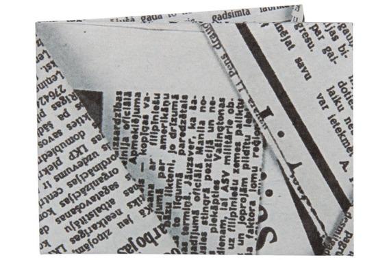 Carteira De Papel Tyvek - Ágora   Jornal