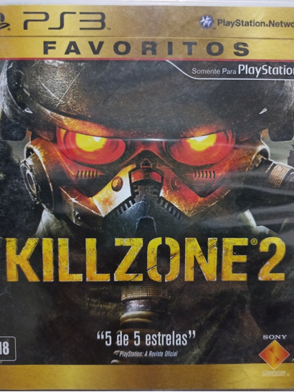 Killzone 2 Ps3 Original, Mídia Física, A Pronta Entrega