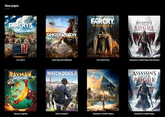 Uplay Com Vários Jogos