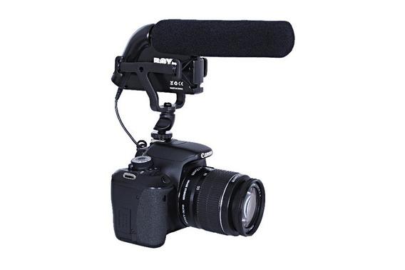 Microfone Profissional Boya By-vm200 Pra Filmadoras E Dslr