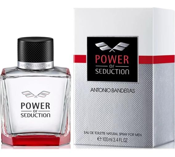 Perfume Antonio Banderas Power Of Seduction 100ml + Amostra