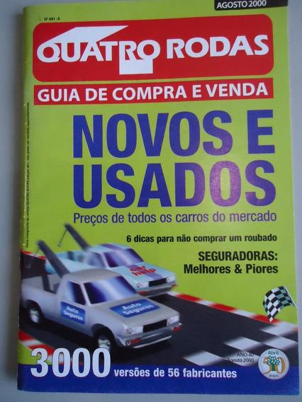Quatro Rodas - Guia De Compra E Venda - 08/2000