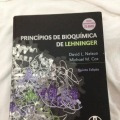 Livro, Bioquímica, Lehninger