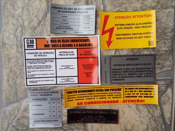 Etiqueta Chevette 1988 1989 1990 1991 1992 1993 1994 Junior