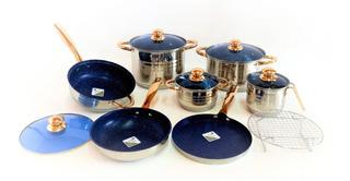 Batería De Cocina Grunberg Kexin Premier (13 Piezas)