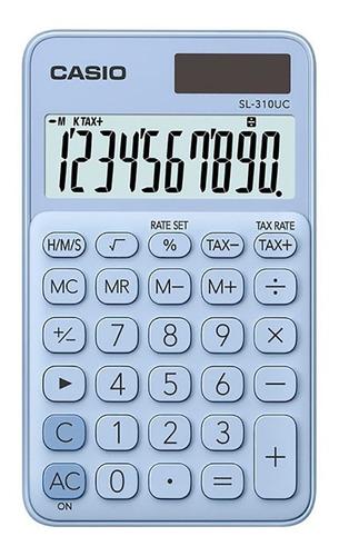 Calculadora Casio Sl-310uc Linea Mi Estilo Varios Colores