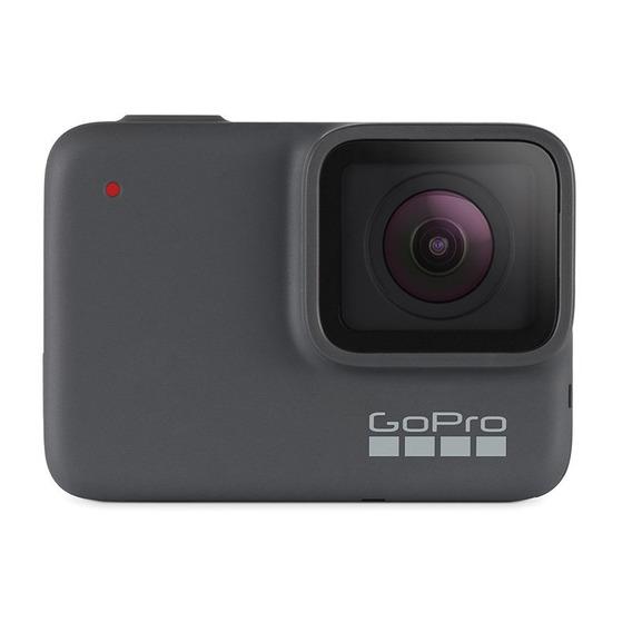 Câmera Digital Gopro Hero 7 Silver 10mp Gravação 4k Wi-f