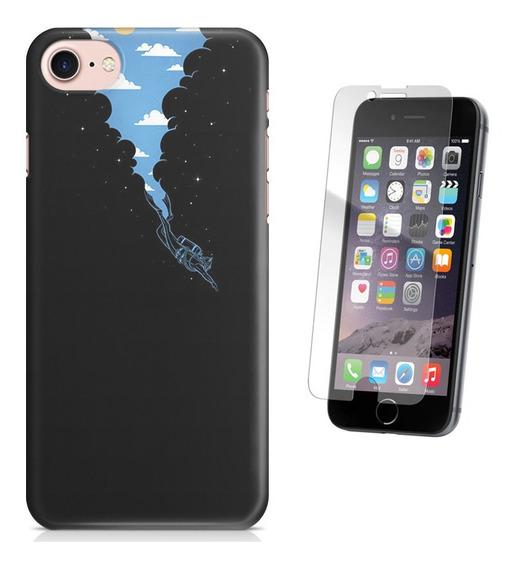 Kit Capa iPhone 7 - 4.7 Mergulho Pelicula