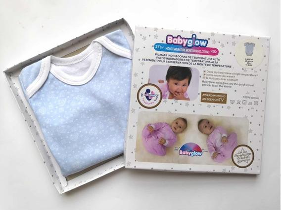 2 Pzas Camisas Pañaleras Monitorea Temperatura Del Bebe