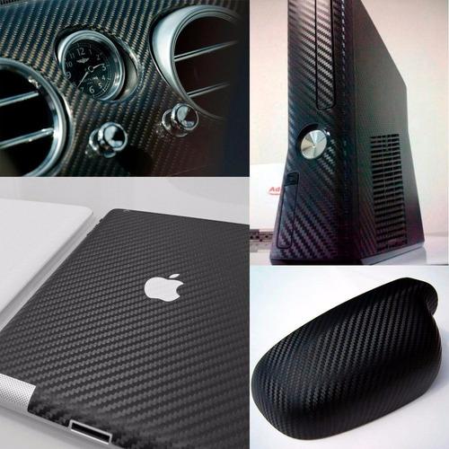 Adesivo Fibra De Carbono Para Envelopamento Notebook Celular