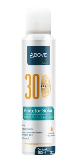 Protetor Solar 30 Above 150ml/120g Baston