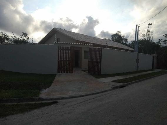 Casa Lado Praia, Jardim Palmeiras, Itanhaém, 1000 Mts Do Mar