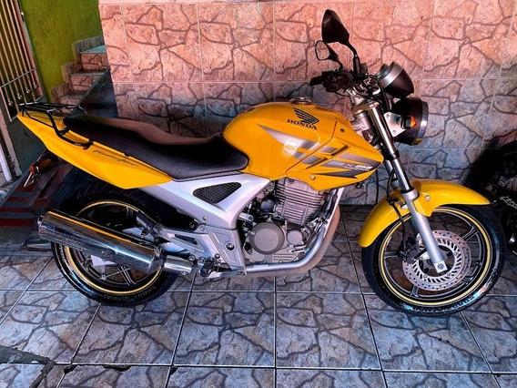 Honda Cbx 250 Twister Gasolina Amarela 2008
